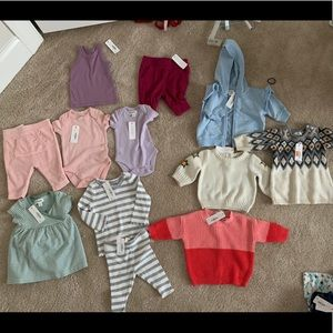 Gymboree 0-3 month girls lot. BNWT
